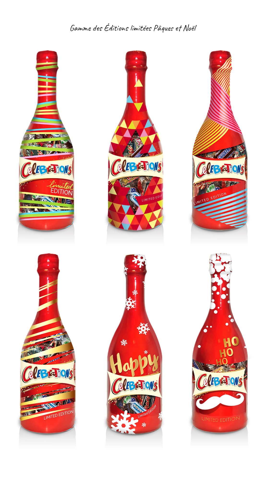 Packaging version classique Celebrations