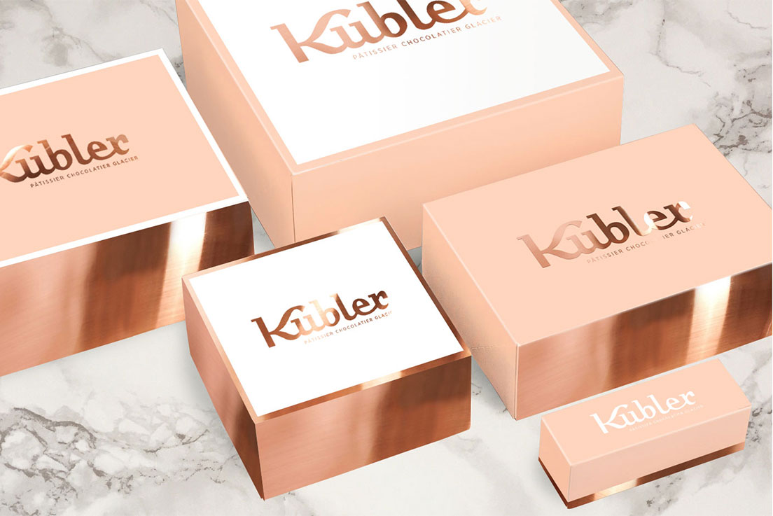 packagings pâtisserie Kubler